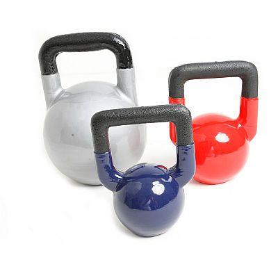 Kettlebells de Ferro Emborrachados
