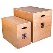 PlyoBoxe (caixa de madeira para salto)