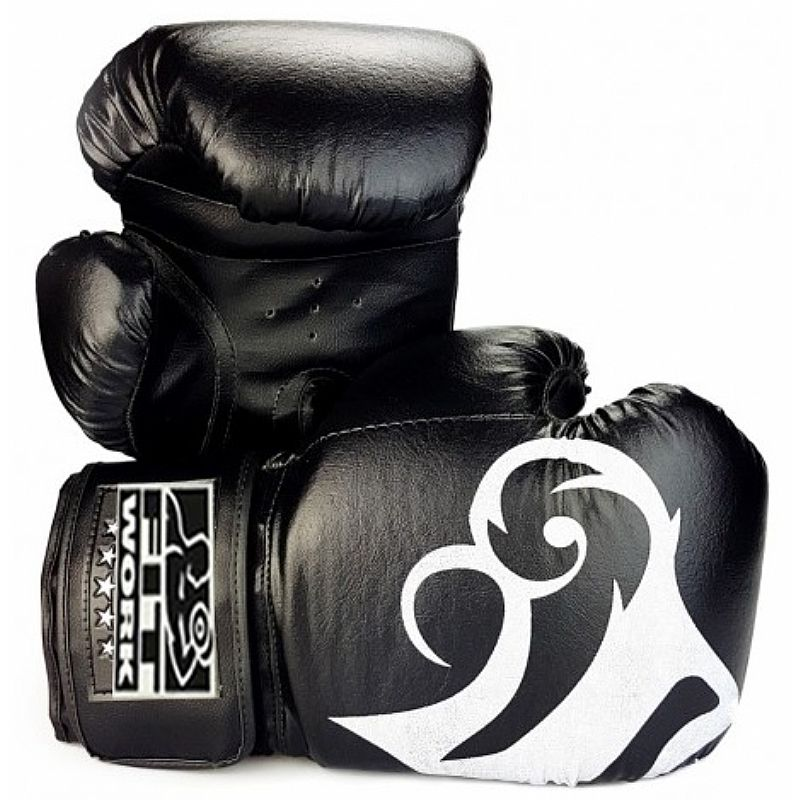 Luva de Boxe PU - Peso (OZ) (Em par)