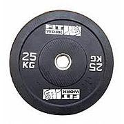 Anilha Bumper Plate Black  - IMPORTADA
