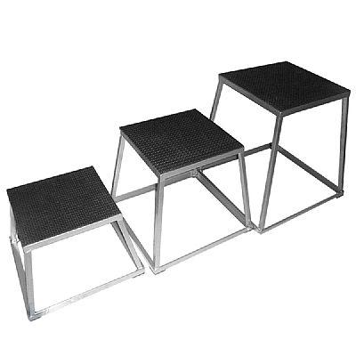 Jump Box Metálico - Pliometria