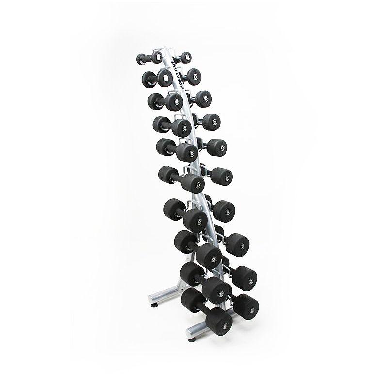 Suporte Torre Curvo p/ 10 pares de halteres